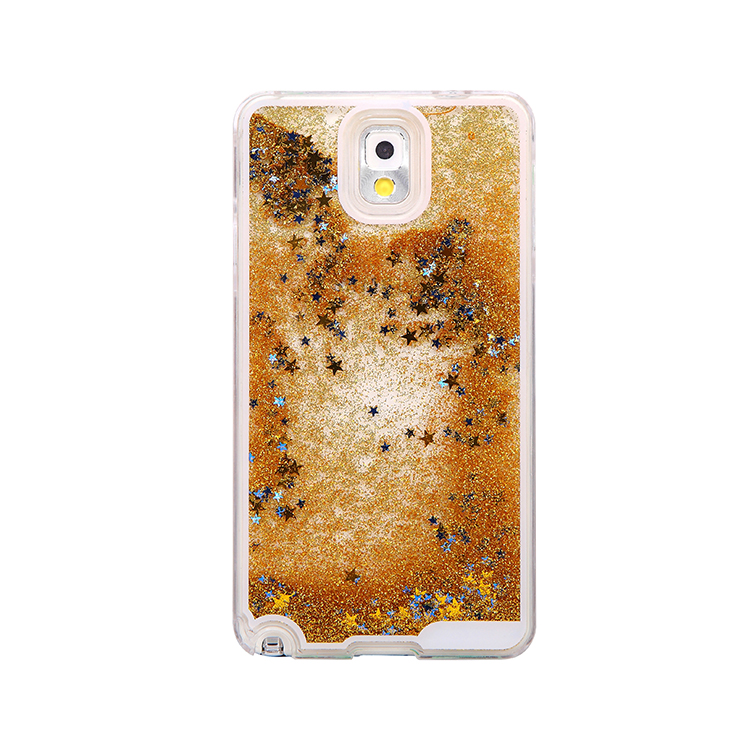 sanlead Dynamic Liquid Quicksand Fundas Hard Case Covers For Iphone 5 5s 6 6s Glitter Stars Capas Para Back Cover