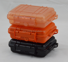 Custom Color plastic Enclosure, Hard Shell Metal Equipment Carrying Case