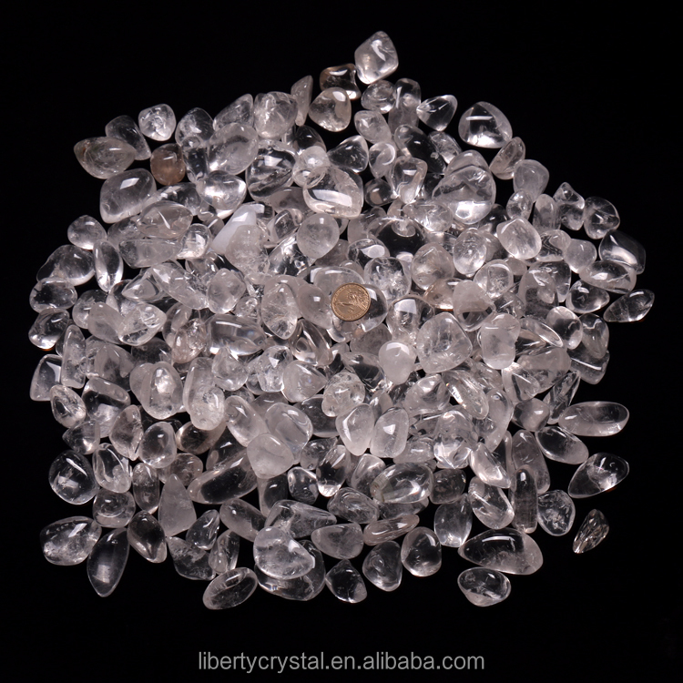 Wholesale Natural Clear Quartz Crystal Tumbled Stones for sale