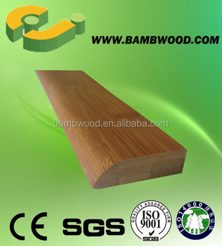 High Quality Solid Bamboo Flooring Wall Base from China