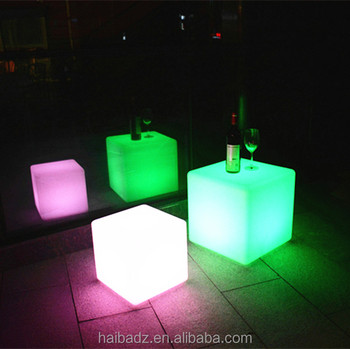 pull up bar waterproof battery operated mini cube led light