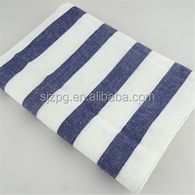 Korean style strips household cotton table placemats for kitchen
