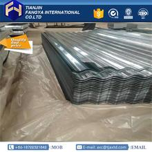 Professional building materials galvanized corrugated metal made in China