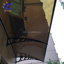 DIY PC door awning and window/house canopy UV protected patio cover