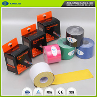 KLIDI Wholesale Custom Elegant Shape Pain Relief Cotton Sports Kinesiology Tape Thailand