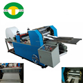 Automatic hanky paper folding machine