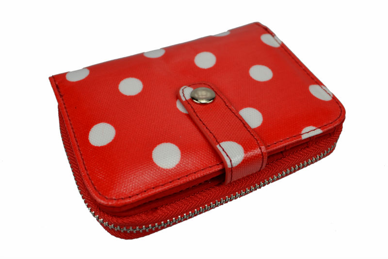 New Arrival Lovely Womens Fashion Purse with Gorgeous Polka Dot Design
