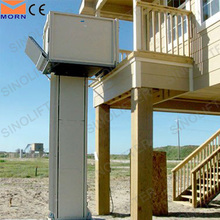 Outdoor lift hydraulic wheelchair disabled lift for home used