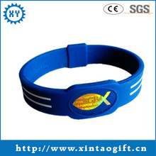 transparent rubber silicone wristband of 2013 hottest item