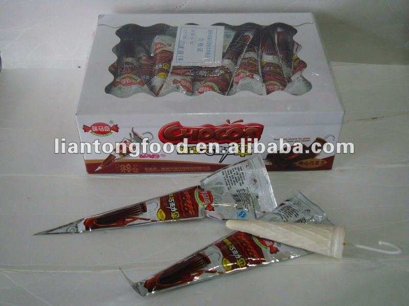 hot sale and new item umbrella crispy chocolate stick