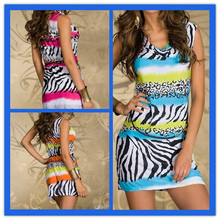 Fashion 2014 Sexy Women New Model Casual Dresses