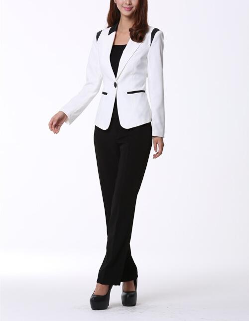 damen anzug design 2014 mode frauen business anz ge anzug. Black Bedroom Furniture Sets. Home Design Ideas