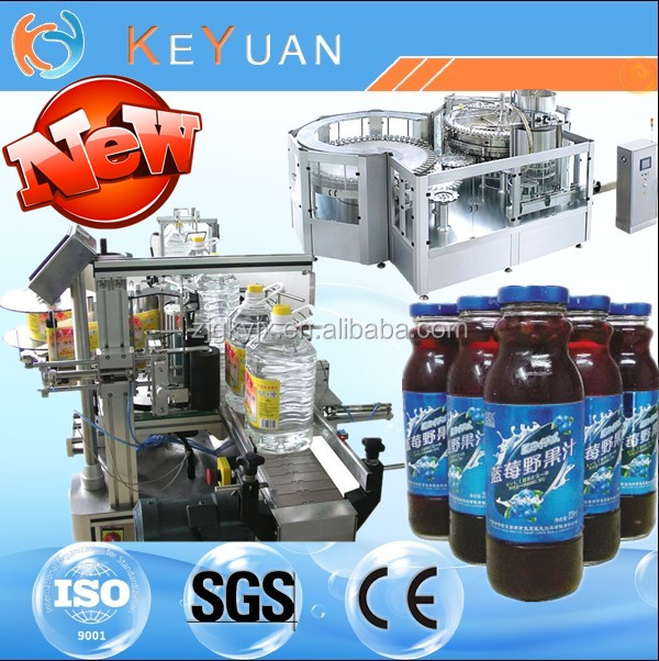 Automatic Mineral Water Plant / Spring Water Filling Machine / Pure Water Bottling Line
