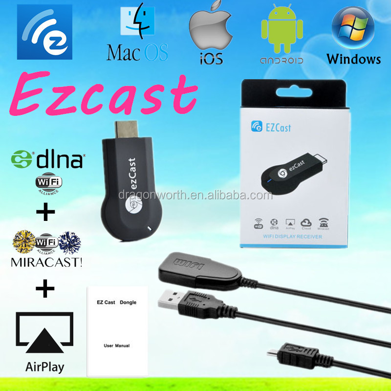 Low price ezcast m2 external wifi receiver for laptop tv moblie phone