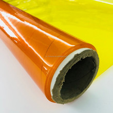 fire retardent color transparent film