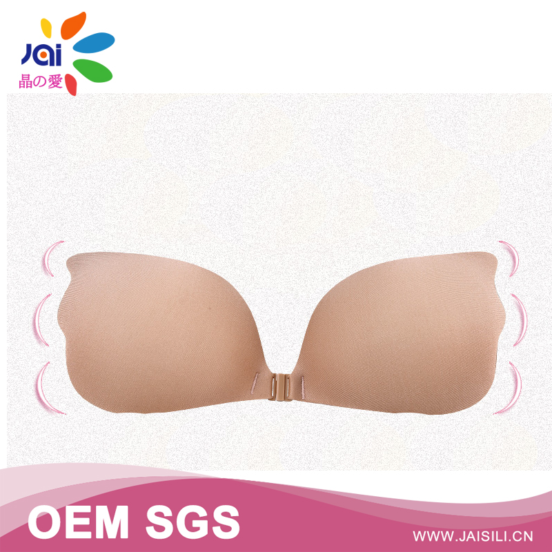 China gold supplier new products Unpadded uplift thicken sexy sponge bra