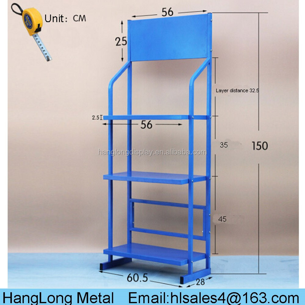 high quality durable spray can display rack with commercial use