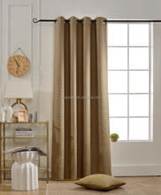 Jacquard Blackout Grommet Window Panel Curtains, 54 X 84 inches, Curtains for Bedroom, Curtains for Livingroom
