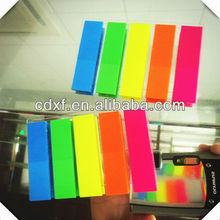 post note 5 color stationery index