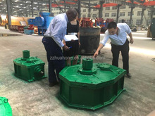 Zhengzhou speed reducer, electric motor speed reducer used in wet pan mill