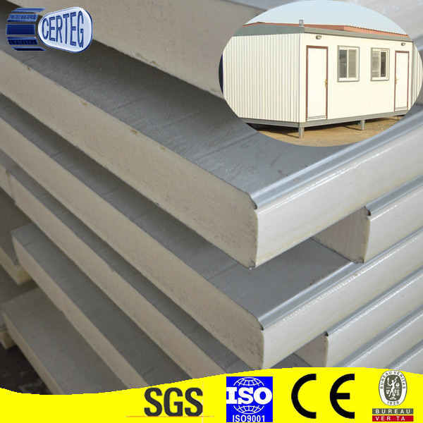 2 Story House Building Villa EPS Cement Wall Panels cheap price pu sandwich panel