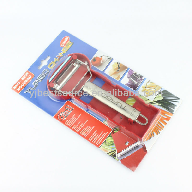 Kitchen Apple Corer Potato Carrot vegetable peeler with plastic block