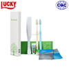 Disposable Personalized Hotel Toothbrush With Toothpaste