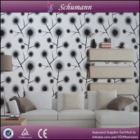 Hot sale cheap pvc/vinyl wallpapers for home decoration