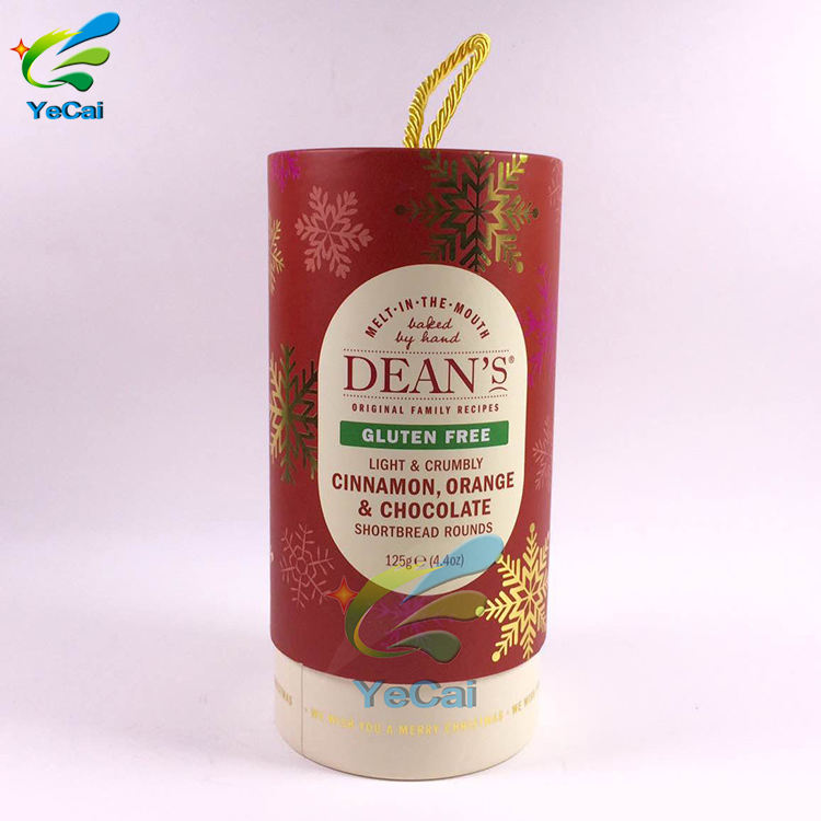 Best Price Round Paper Tube Tea Packaging Box Food Cylinder Containers