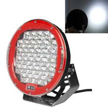 96w 9 inch round led driving work light for offroad