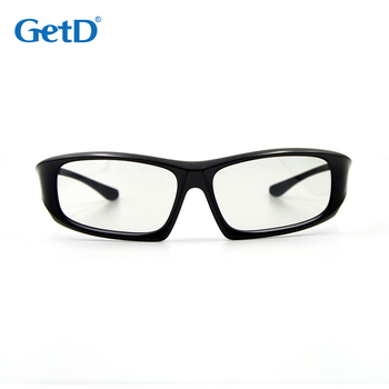 Multi used Passive Circular Polarized 3D glasses for 3D Cinema G64