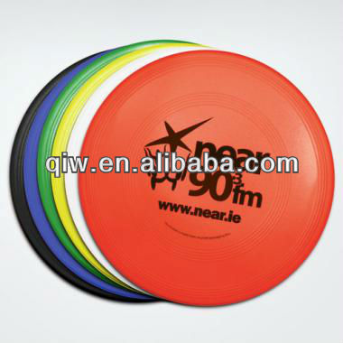 10cm 4'' advertising cheap plastic frisbee