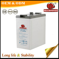 High Capacity 2V 24V used ups telecom battery for solar system