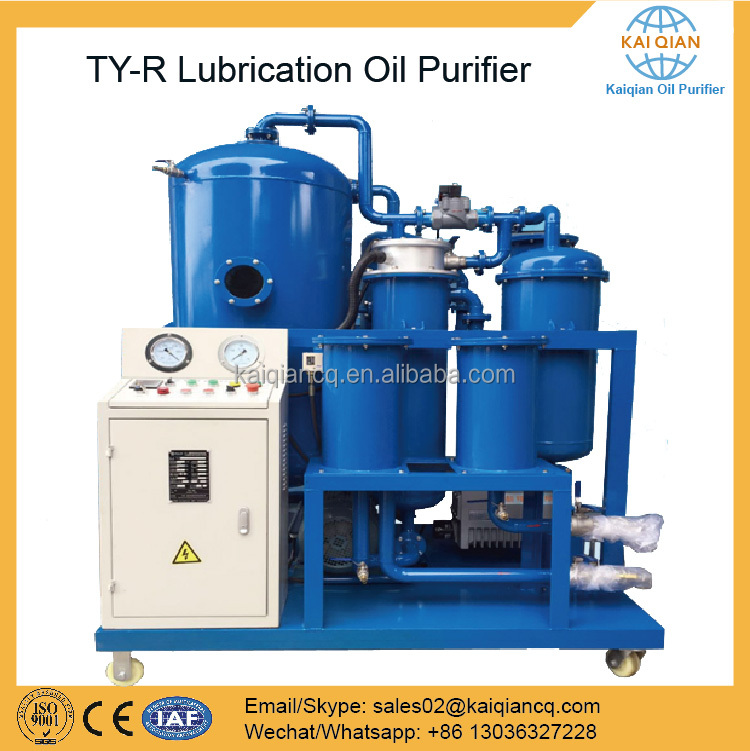 Lube Oil Purifying Machine Used Oil Recycling Plant