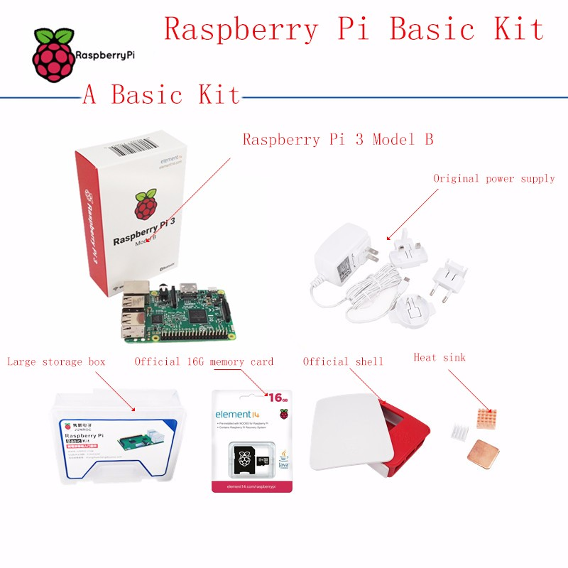 Atacado original placa raspberry Pi 3 Modelo B