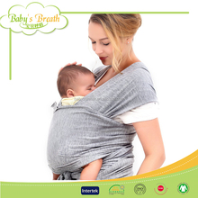 BC03 Breathable 4-in-1 Cotton Baby Wrap Carrier