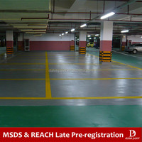 DE416 Waterborne Epoxy Flooring Coating Paint