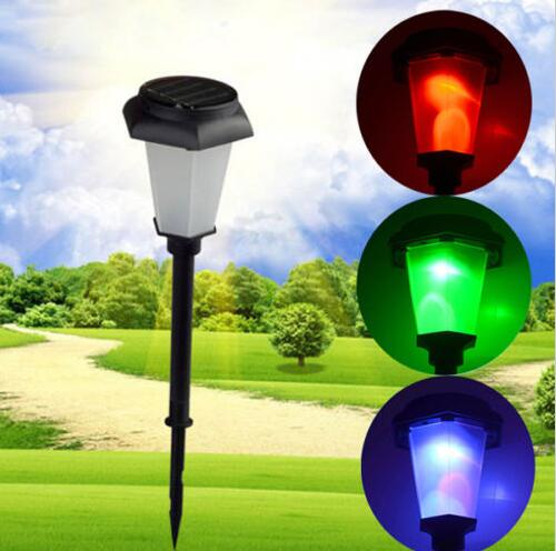 solar power led light patheway garden outdoor