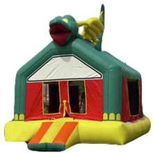 high quality Cheap Green Dragon inflatable bouncer/ jumping bouncy castle/ moon bounce house jumper moonwalk walker trampoline