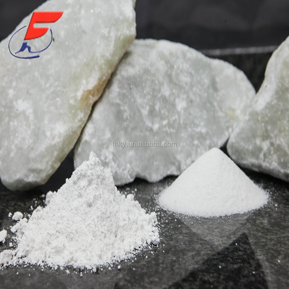 99% whiteness plastic raw materials grade talc lumps prices