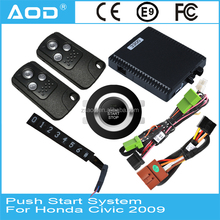 Smart key entry engine start stop system with remote control system for Honda Civic 2009
