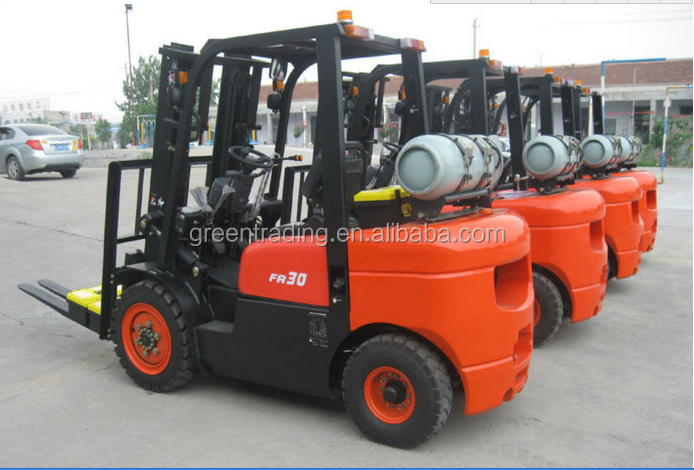 cheap price 2500kgs diesel fork lifter for hot sale
