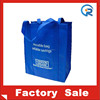 direct factory tote bag/recycle material non woven bag/promo non woven shopping tote bag