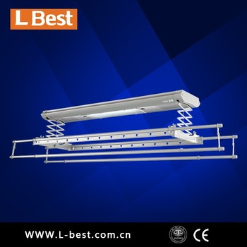 Multifunctional electric clothes drying rack