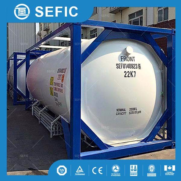 used widely best price 20ft 40ft tank container/ liquid nitrogen storage tank price
