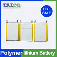 3.7v 900mah rechargeable Li-ion Polymer Battery with Connector