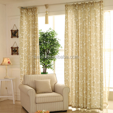 plum blossoms voile fabric printed sheer curtain