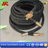 Factory Price Red Color Flexible Fabric Surface Sand Blast Rubber Hose For Sand Blasting Machine