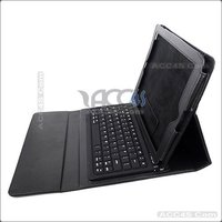 Litchi Pattern Bluetooth Keyboard Leather Case for iPad 2/3/4 P-iPAD3CASE012