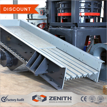 ZENITH grizzly bar vibrating feeder for stone crushers